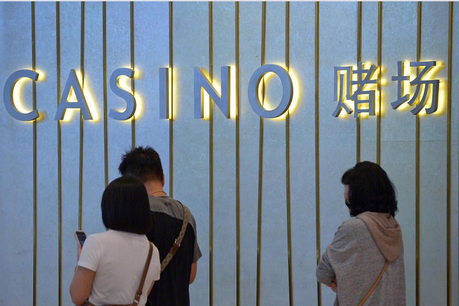 Casino Levies At Their Lowest Level Since Opening Of Two Casinos Here In 2010 Singapore News Top Stories The Straits Times