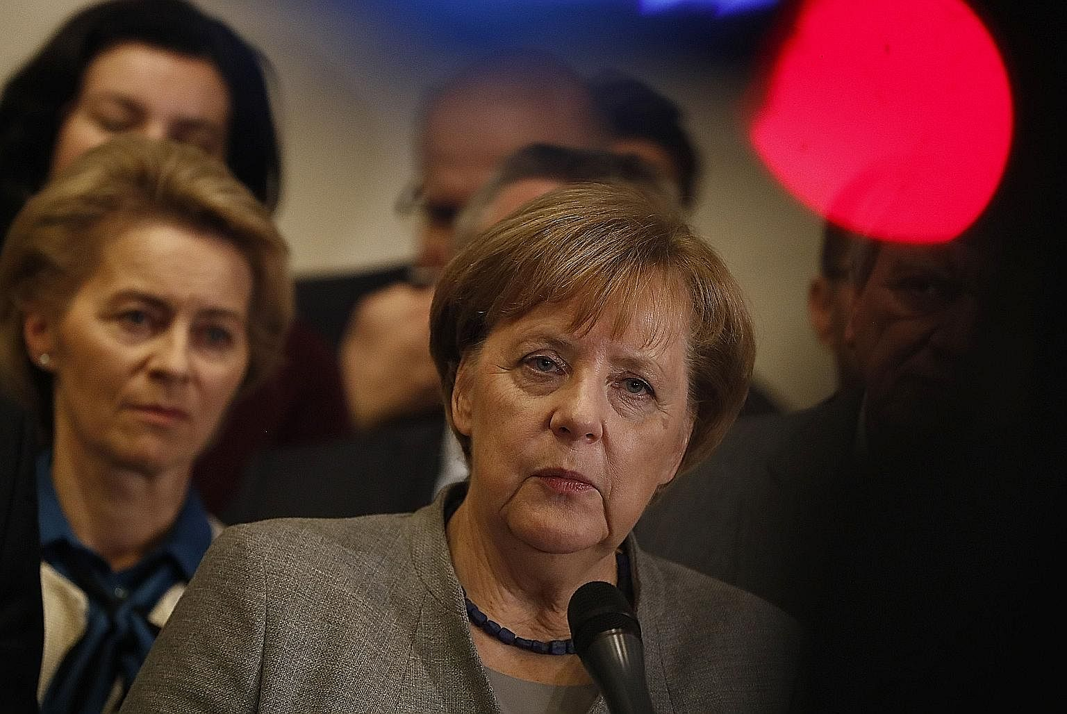 The writer says that more people have to recognise that if Dr Angela Merkel's long rule is threatened, it need not be a sign of liberalism in crisis but rather an indicator that it could yet be restored to health.