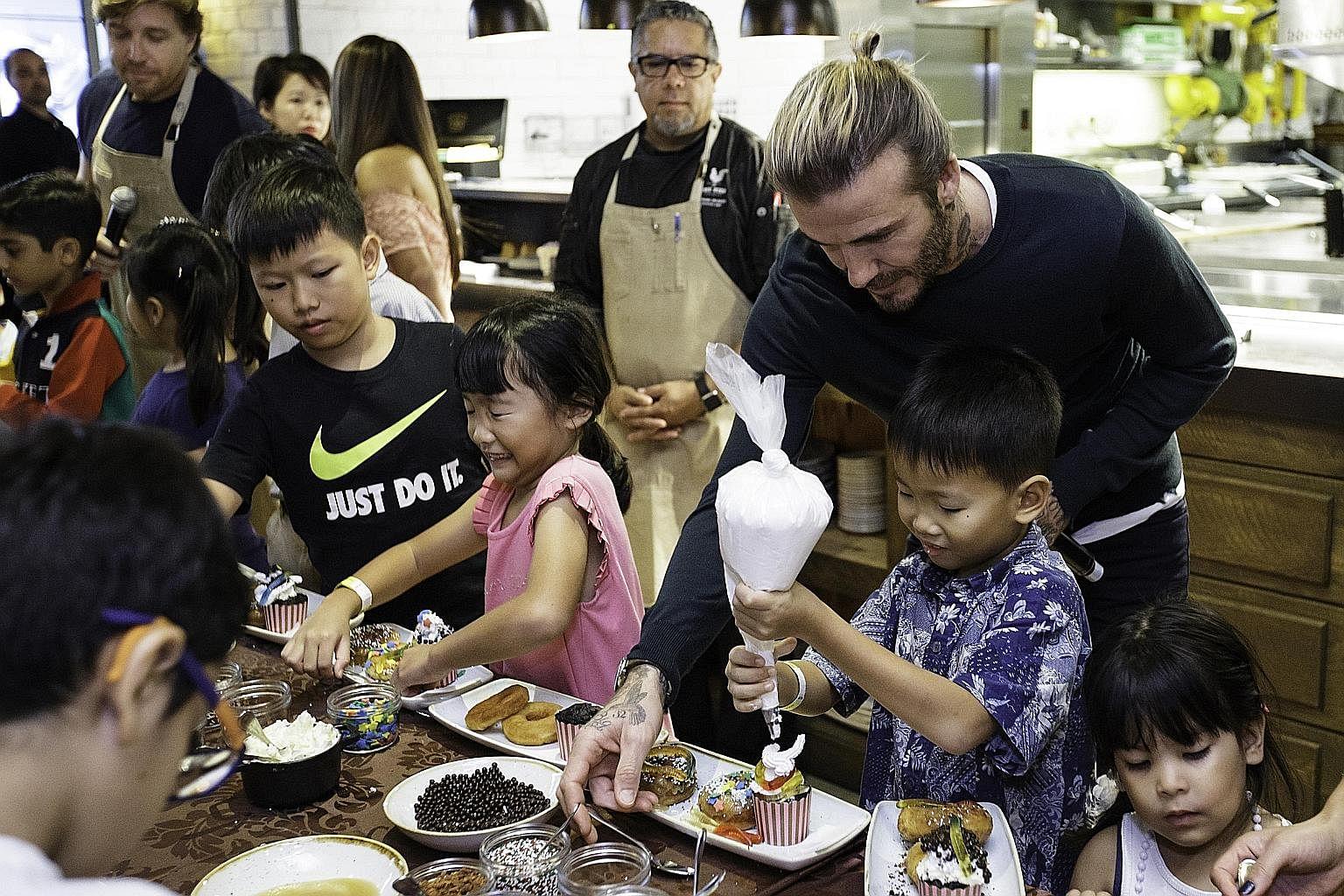 Beckham Visit Is Icing On The Cake Singapore News Top Stories