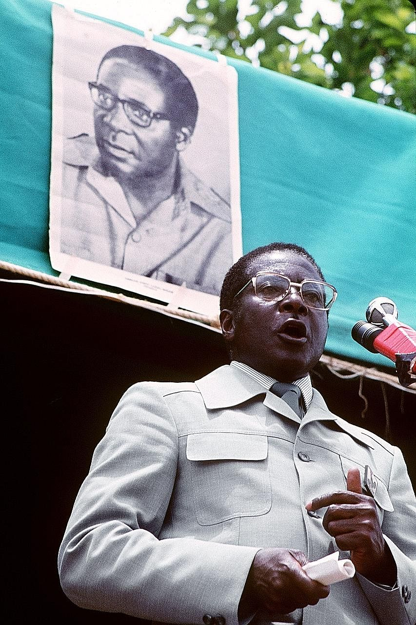As Zimbabwean prime minister then, Mr Robert Mugabe, who was also leader of the Zimbabwe Afri