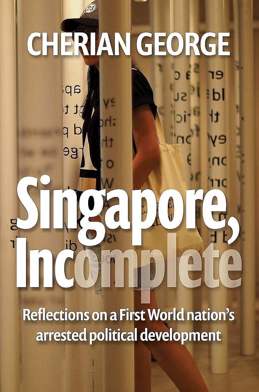 Former NTU lecturer and journalist Cherian George, who teaches at Hong Kong Baptist University, says in his book debate is good training for Singaporeans for the real competition - the outside world.