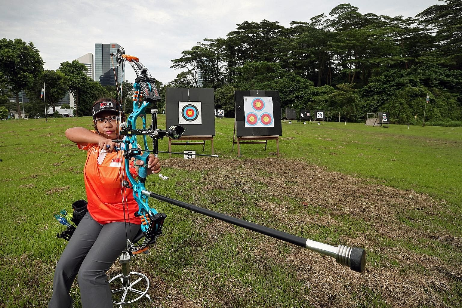 Para-archer Nur Syahidah Alim bagged two gold medals at her debut in the 2015 Asean Para Games and defended her gold at the 2017 Games. She was also the first female archer to represent Singapore at the 2016 Paralympics in Rio.