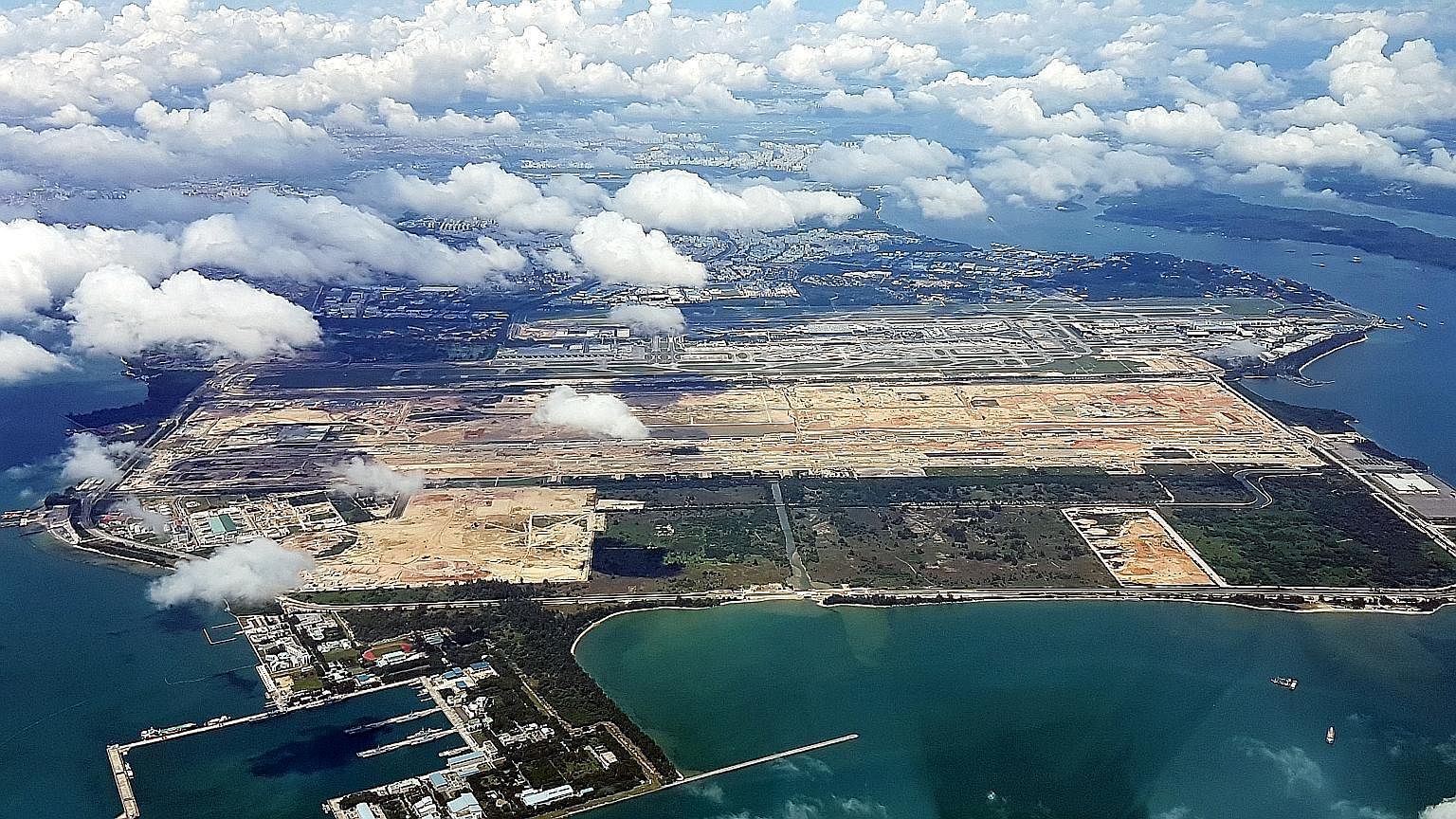 The Changi East project includes T5, a mega passenger terminal, as well as major drainage and other ground works. Those who push for pre-funding for T5 will say that other airports have also recently introduced similar user charges. But since when di