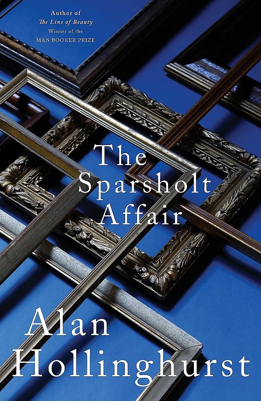 The Sparsholt Affair (above) is the sixth novel by author Alan Hollinghurst (left).