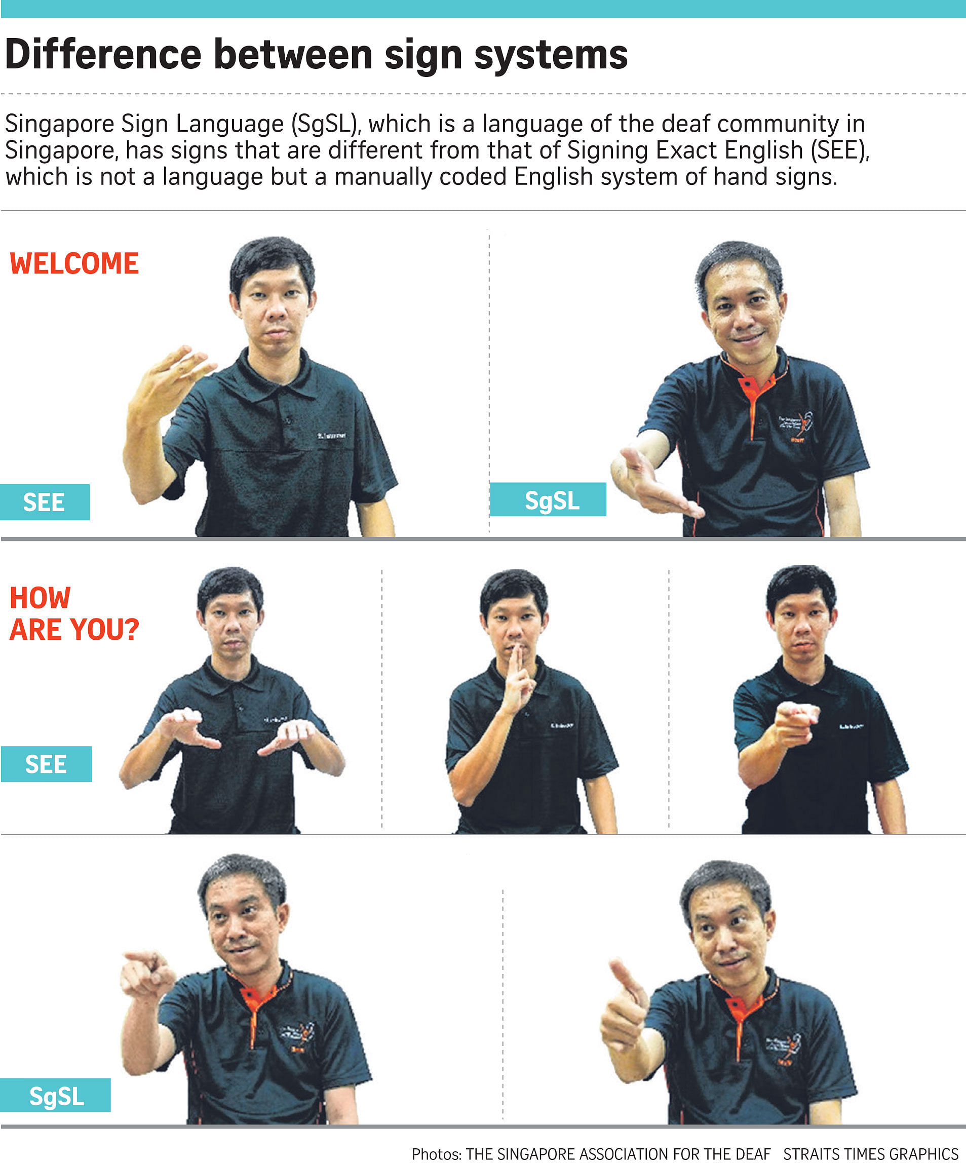 The Deaf Community Sees Red Over Signs Singapore News Top Stories