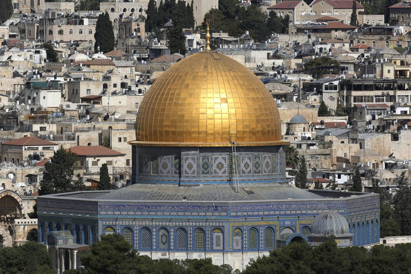 A View Of The Al Aqsa Compound Temple Mount In Jerusalems Old City Photo Epa Efe