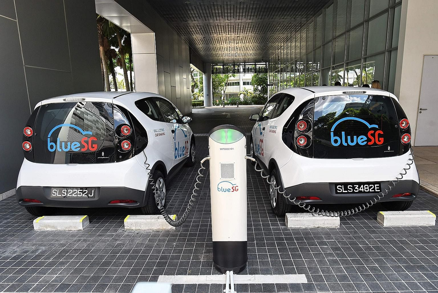BlueSG aims to grow its fleet of electric vehicles to about 1,000 and have 2,000 charging points by 2020. Users can book a vehicle via a mobile app, pick the car up at a charging station and return it at a station that is nearest to their destination