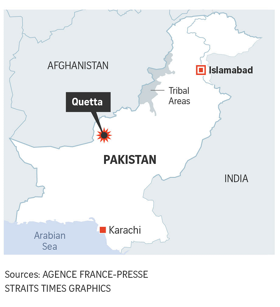 ISIS claims pre-Christmas suicide bombing of Pakistan church
