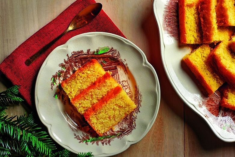 Sample the food of christmas past at restaurants this season food sugee cake is available on the special christmas menu at folklore photo folklore forumfinder Choice Image