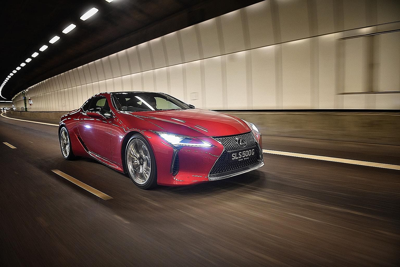 The Lexus LC500 offers classic muscle car grunt with Lexus finesse and sophistication.