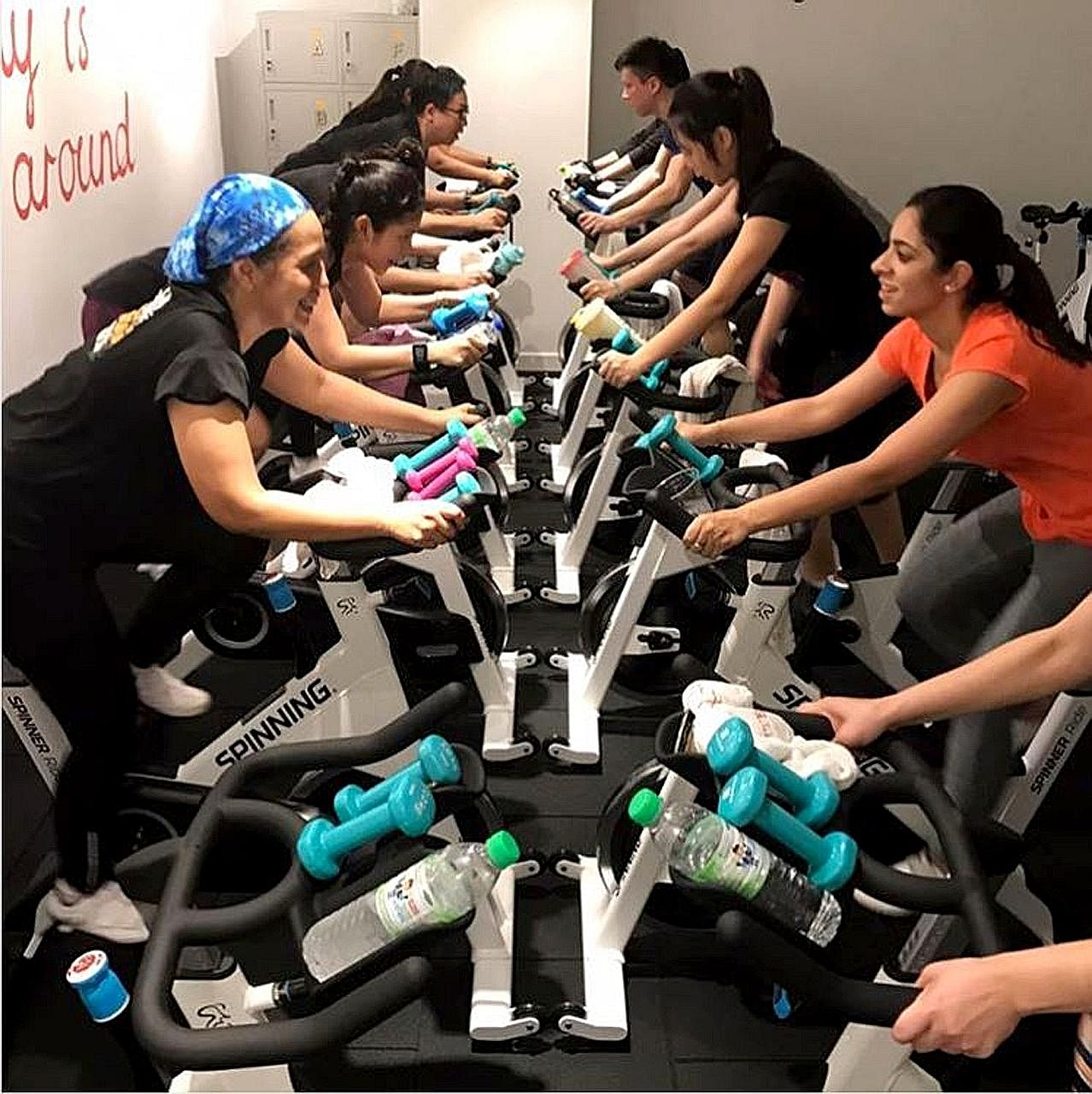 Cycling studios like Aloha Cycle Club in Kuala Lumpur are cashing in on the demand for spinning, an exercise that combines cycling with music, from young, urban Malaysians.