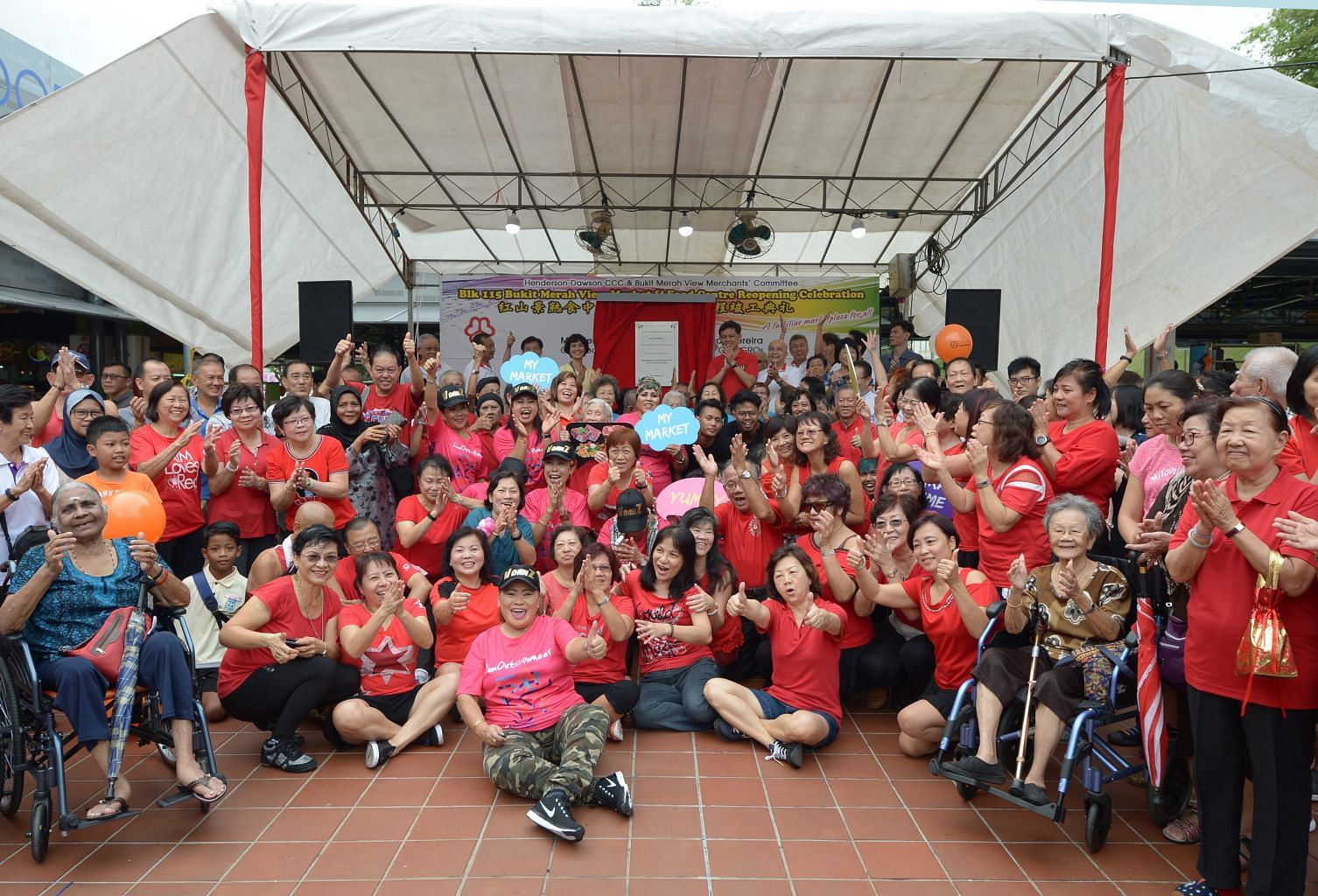 Bukit Merah View Food Centre and Market reopens with new