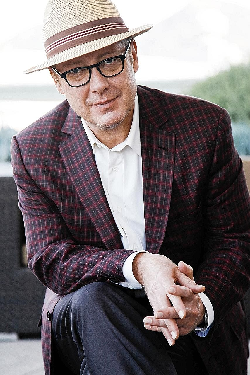 Actor James Spader (above, in a 2015 photograph) says the protagonists he has played tend to be people who are disruptors.