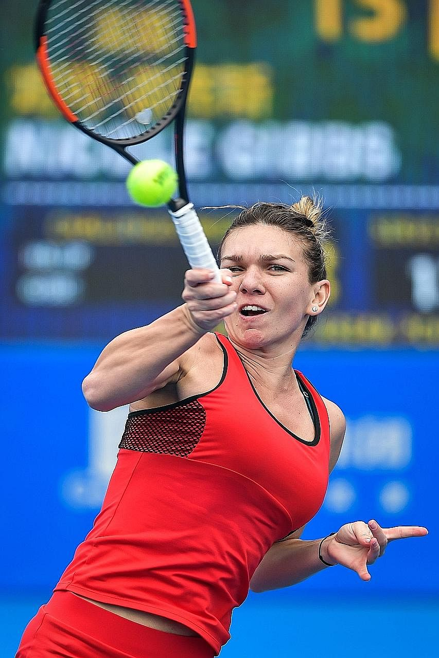 "World No. 1 Simona Halep goes in search of a first Grand Slam title at the Australian Open without a clothing sponsor, but is happy she'll be able to wear her ""lucky"" red dress which she found on the Internet."