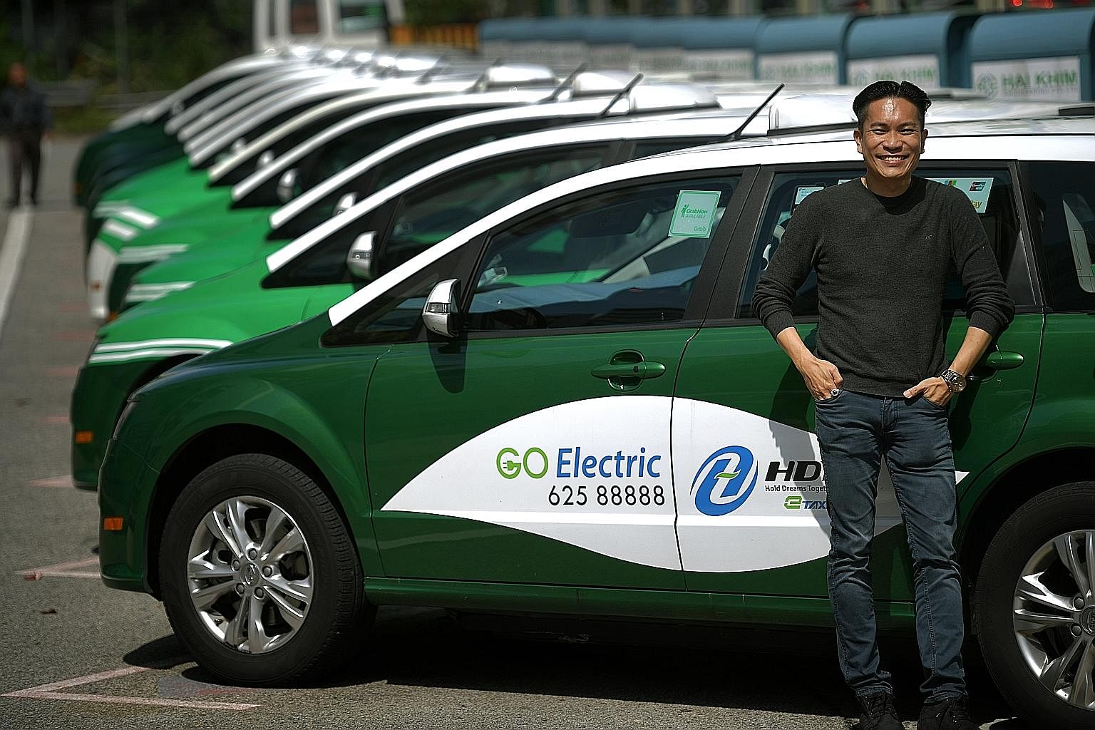 Electric Taxi that operates in Singapore | The Straits Times