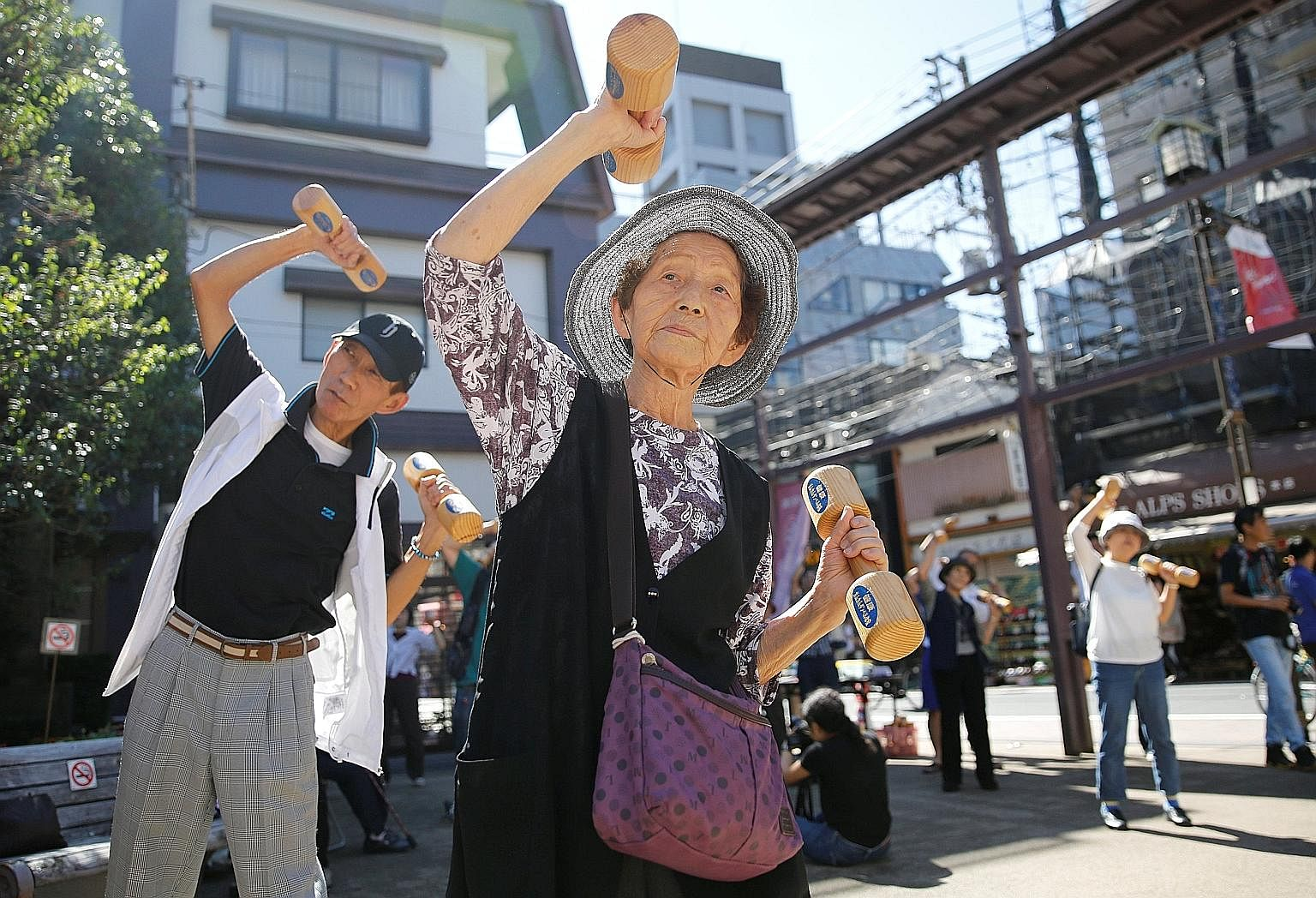 """Japan is on track to soon become the world's first """"ultra-aged"""" country, defined by 28 per cent of a population being over 65. The government is considering allowing people to start receiving their pension after they turn 70, an idea that stems from"""