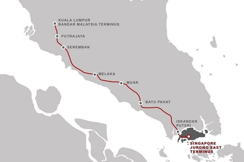 Singapore-Malaysia rail projects to boost connectivity, create