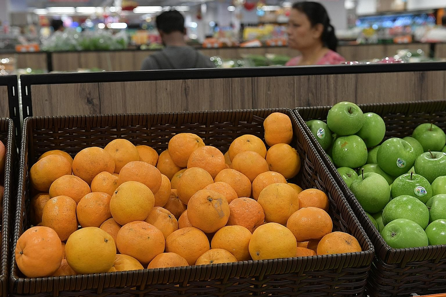 "The Cantonese pronunciation of giving mandarin oranges – ""song gam"" – is the same as ""giving gold""."