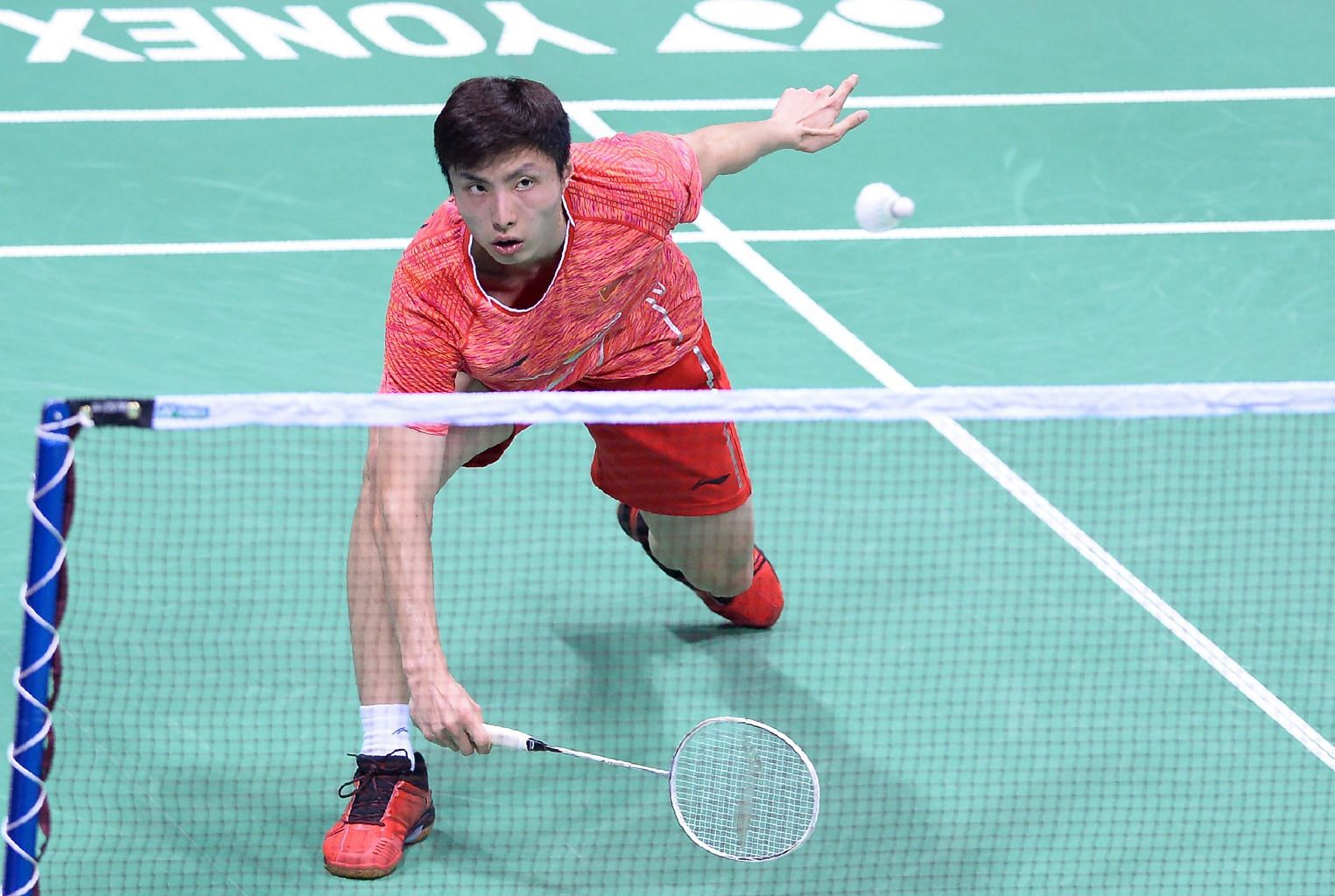 badminton china face indonesia in asia team championship final