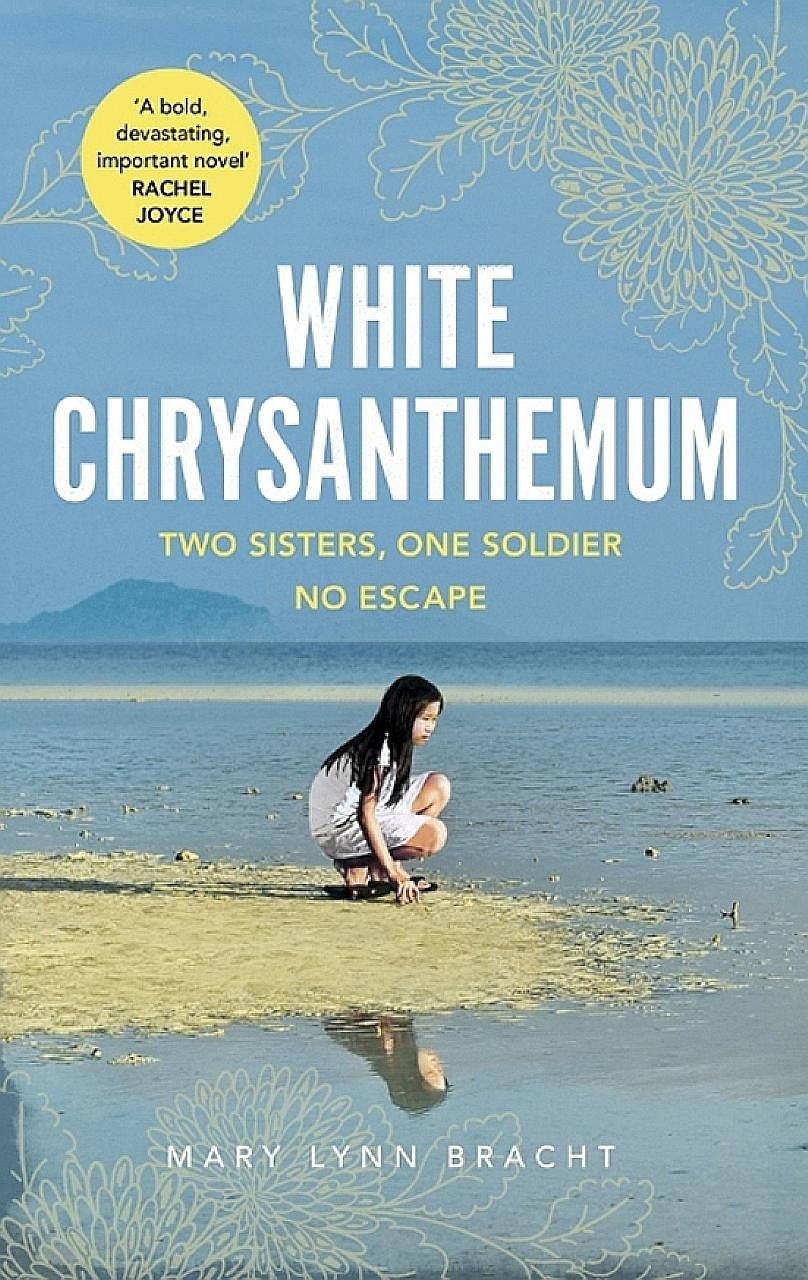 White Chrysanthemum (above), by Mary Lynn Bracht (left), looks at injustices dealt out to women during wartime.
