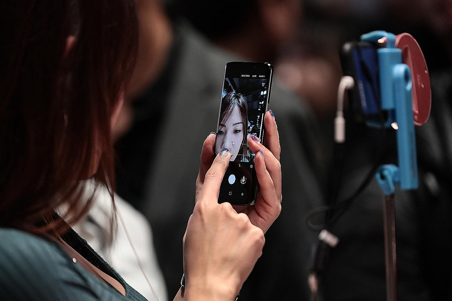 Samsung unveiled its new flagship smartphone Galaxy S9 amid much fanfare last Sunday, with a focus on augmented reality features.