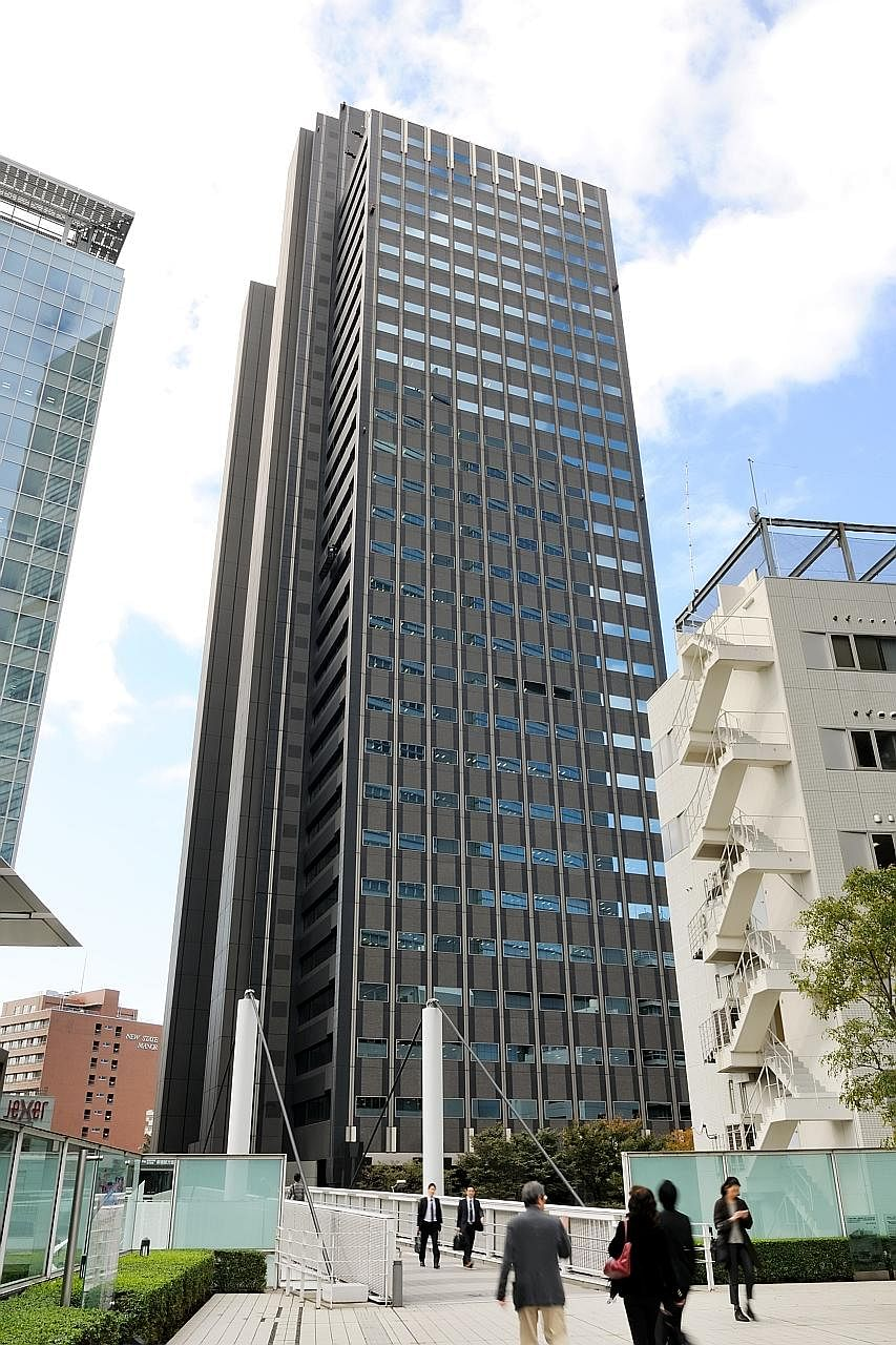 GIC's investments in Japan also include property holdings. It recently acquired a 43 per cent stake in Shinjuku Maynds Tower, a Grade-A office building, from Daiwa Office Investment Corporation.