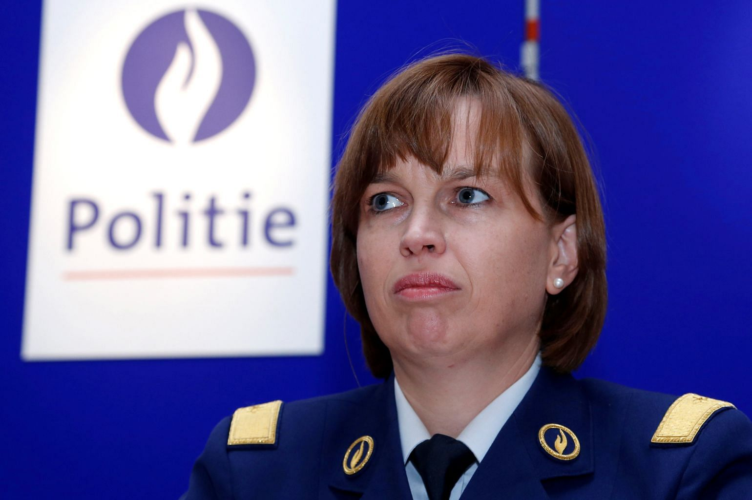 Commissioner of the Brussels police - a transvestite (see)