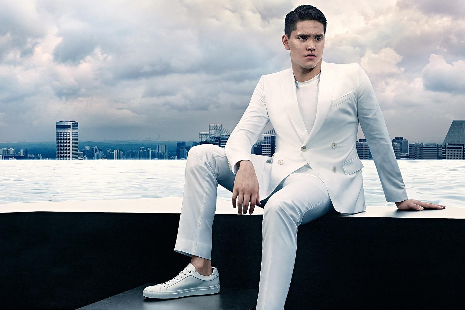 c8477917d Joseph Schooling is Hugo Boss' first Singaporean ambassador. PHOTO: HUGO  BOSS