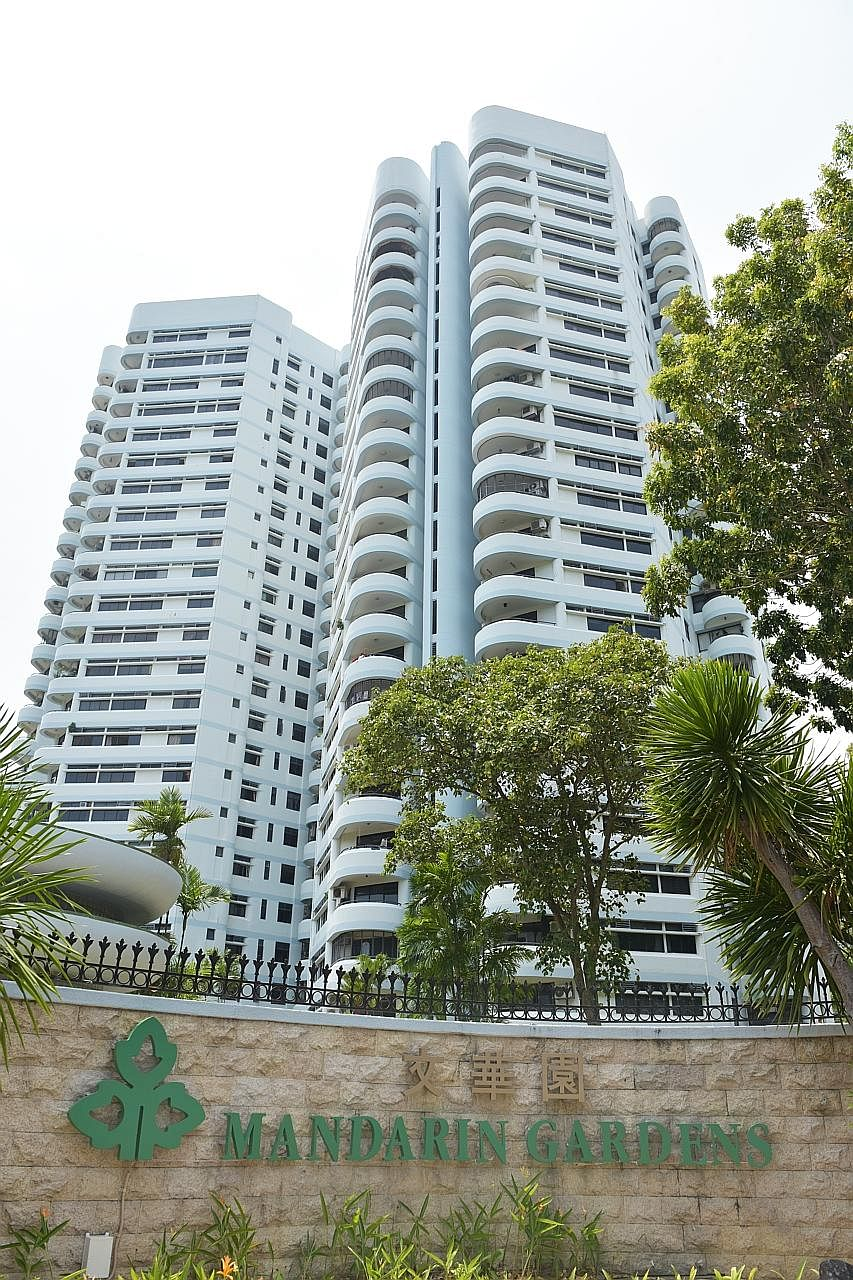 The 1,006-unit Mandarin Gardens condominium sits on a one million sq ft plot in Siglap Road. If the sale goes through, the development could break the existing record for the largest collective sale in Singapore by dollar value.