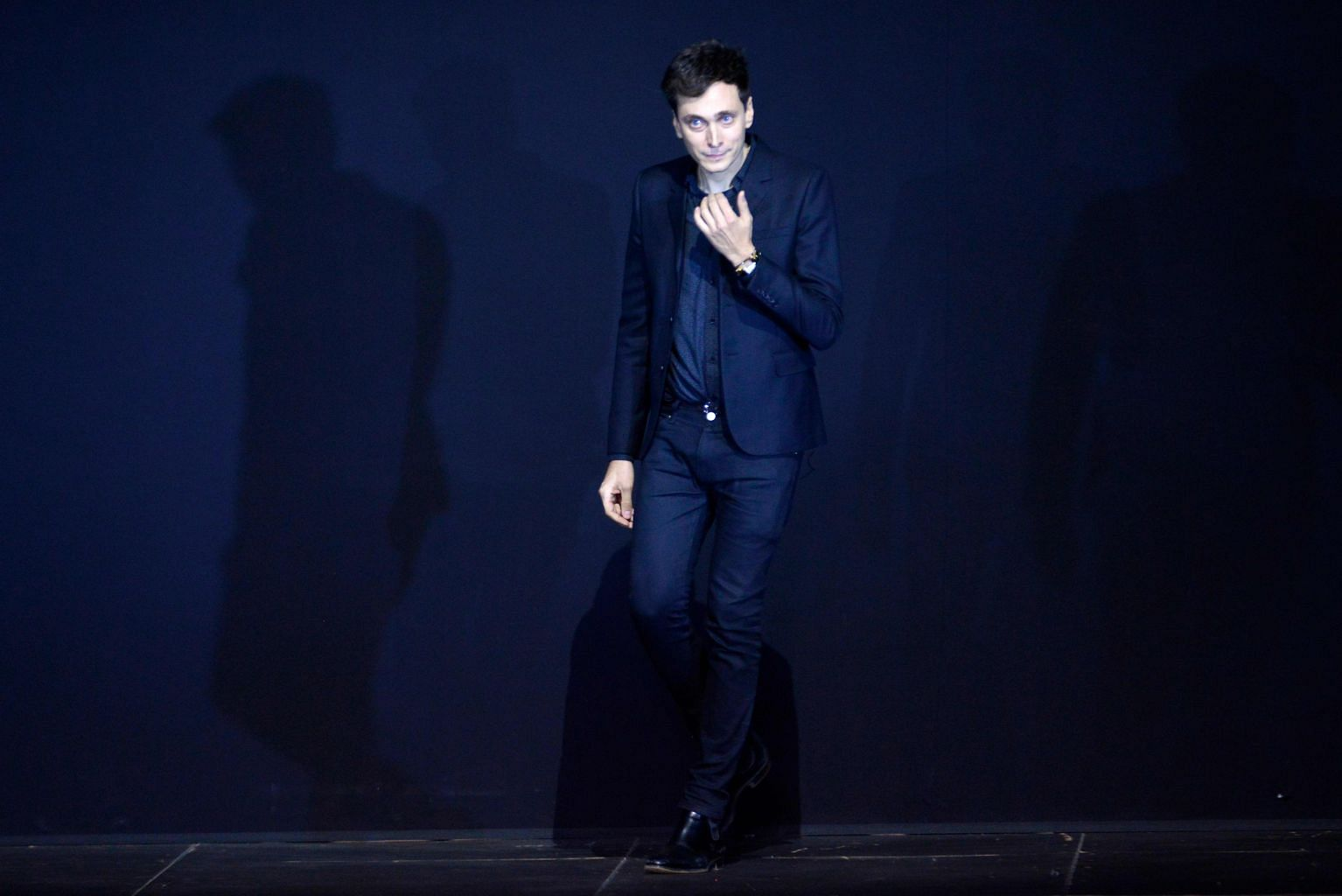 Star Designer Hedi Slimane Underpaid By 9 3m For Last Year Of Service At Saint Laurent French Court Entertainment News Top Stories The Straits Times