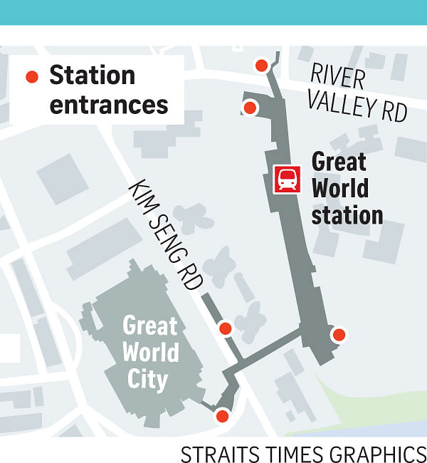 Great World City to undergo major facelift Singapore News Top