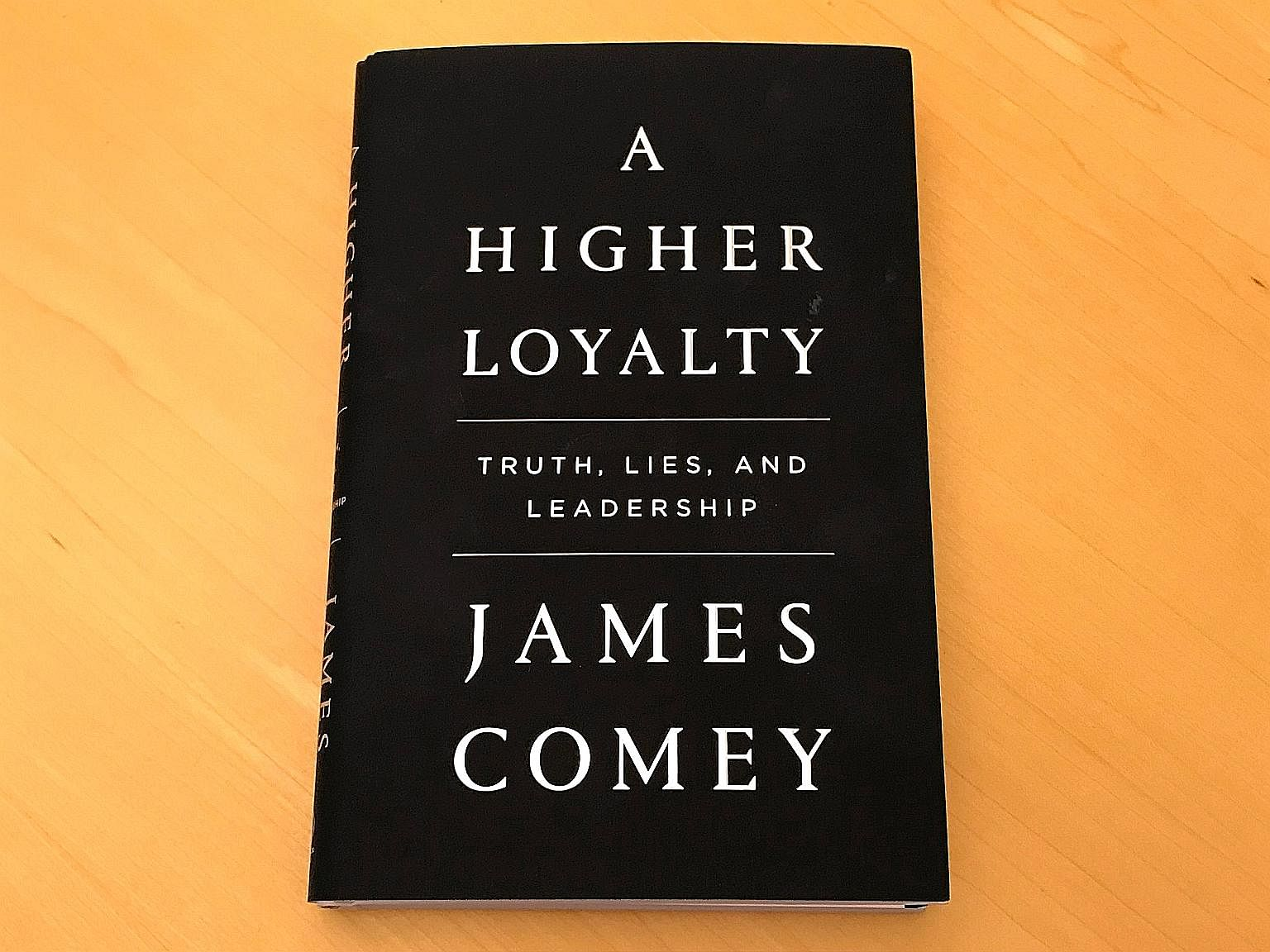 """Mr James Comey, who is on a publicity tour for his book, says President Donald Trump """"does not reflect the values of this country""""."""