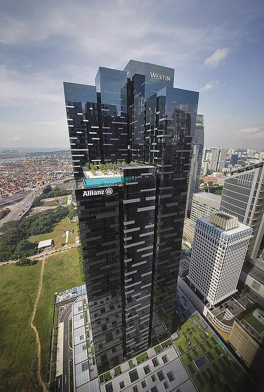 Contribution from Asia Square Tower 2 (above), as well as higher net property income from Capital Tower and 6 Battery Road, led to a higher distributable income of $76.6 million for CCT in the first quarter.