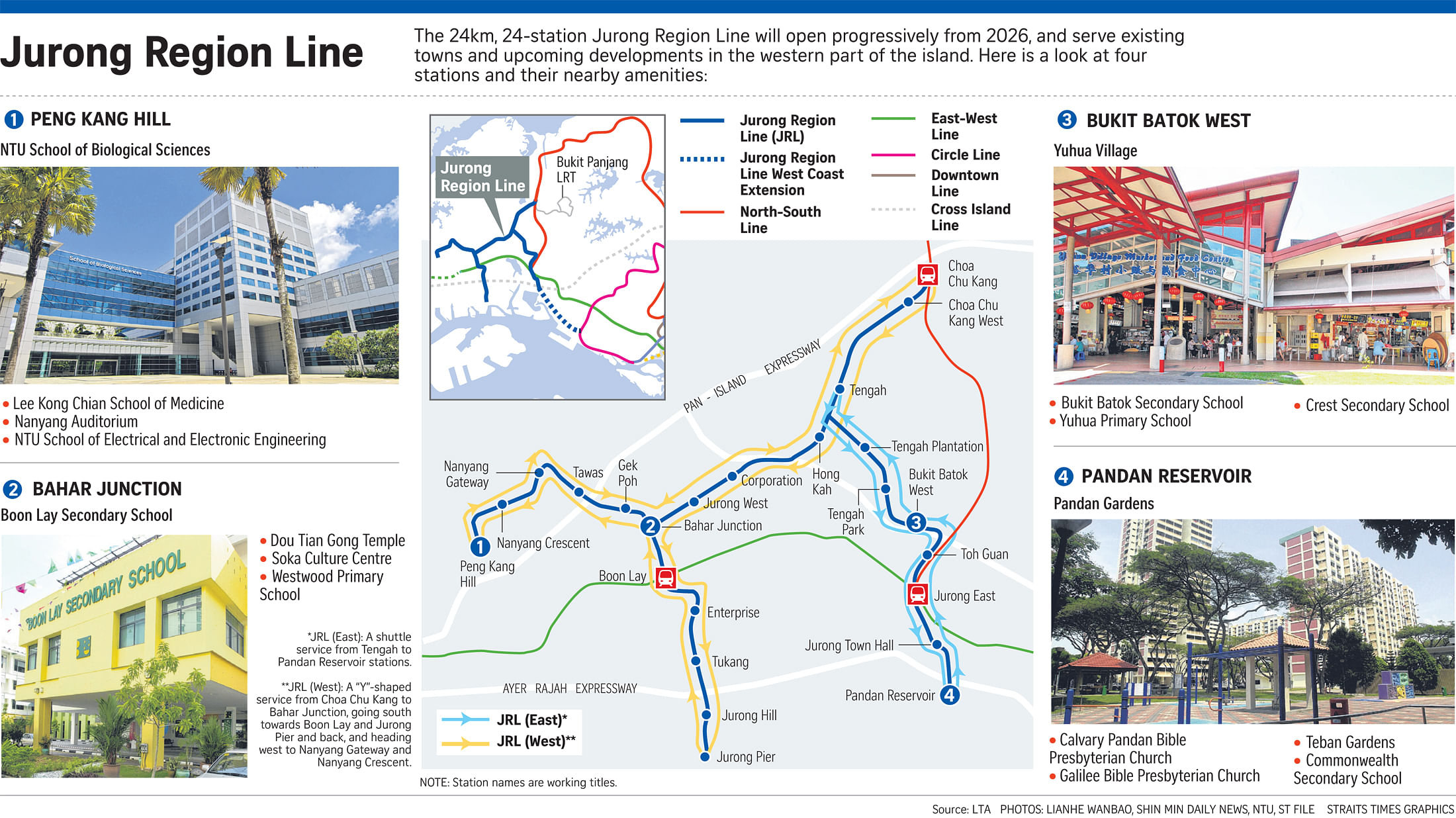 24km Jurong Region Line to open from 2026, Transport News