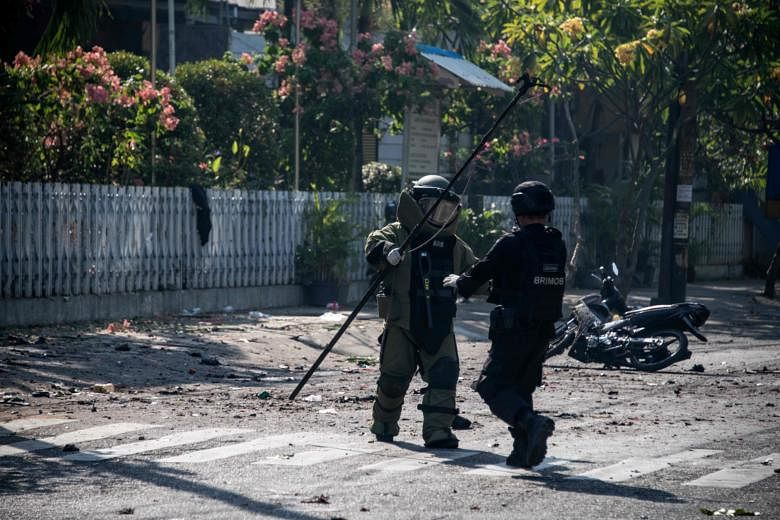 Family of six carried out bombings at three Indonesia