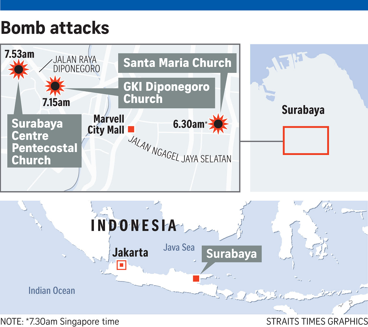 Indonesia's first female suicide bomber a mum of 4, SE Asia