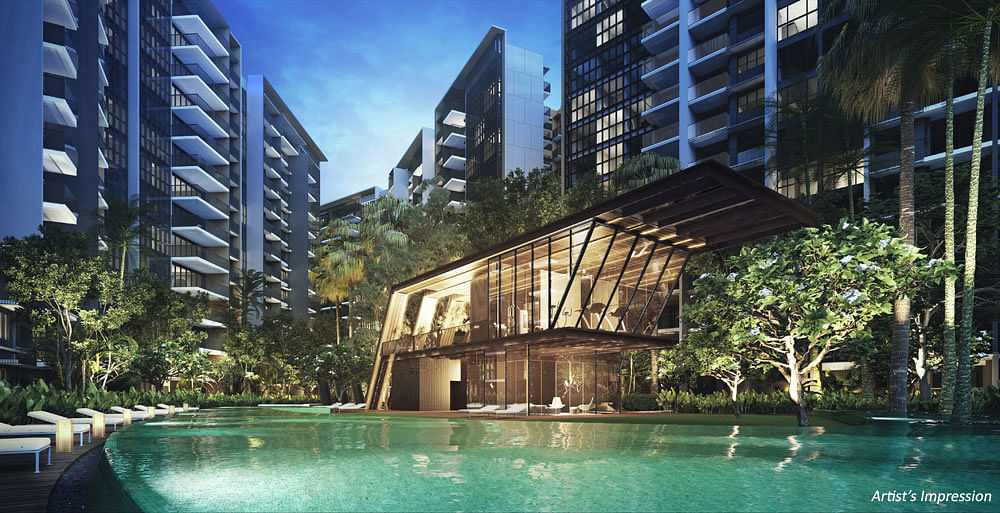 The clubhouse at Oxley Affinity at Serangoon