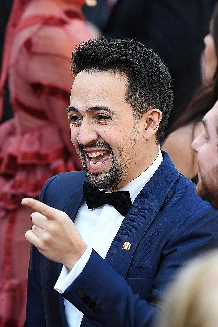 American composer Lin-Manuel Miranda became a power player after creating the hit musical Hamilton, about American founding father Alexander Hamilton. It continues to reign on Broadway three years after it debuted.