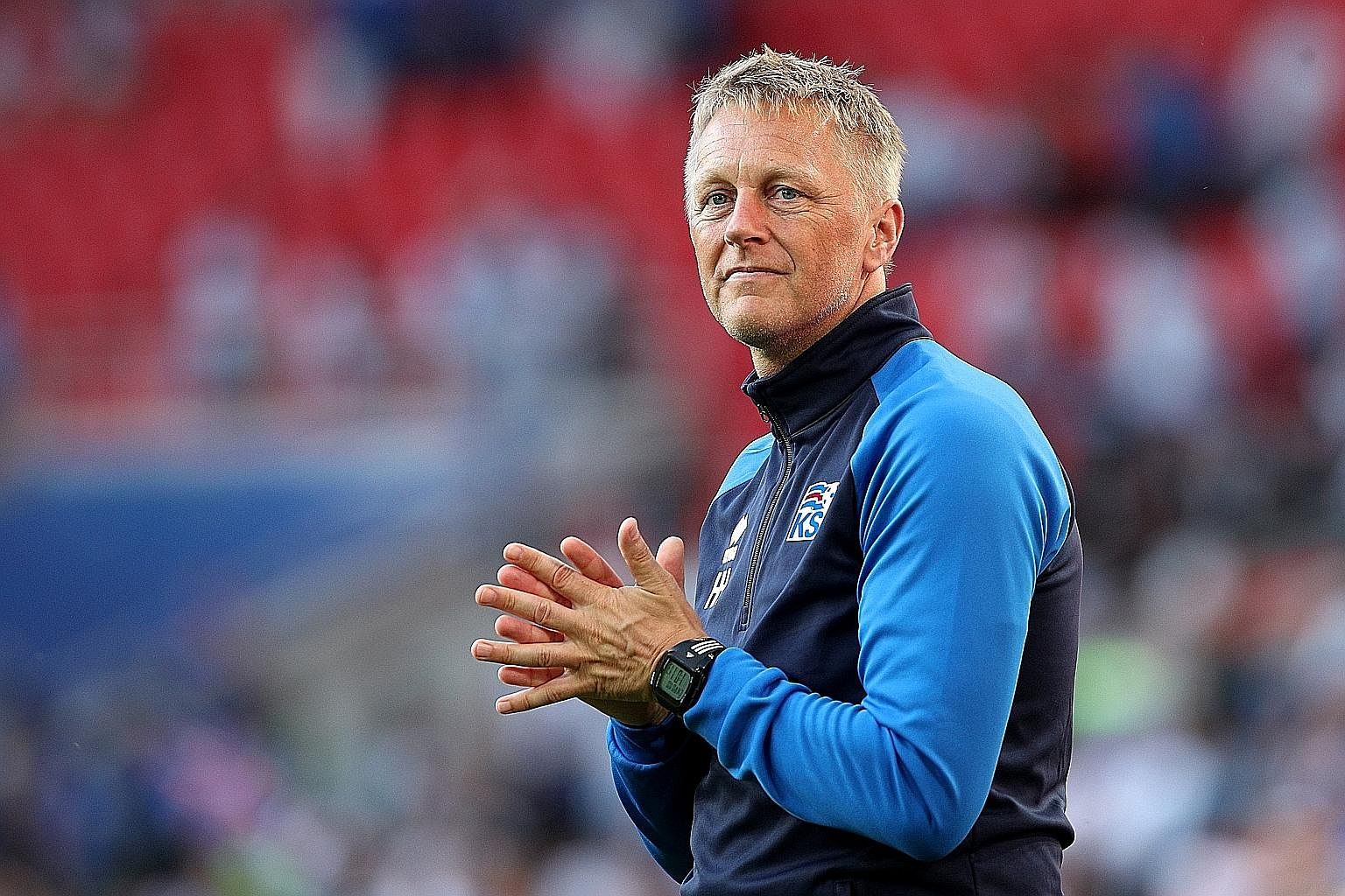 Iceland's concerted effort to keep Lionel Messi at bay in the 1-1 draw on Saturday. They are making waves under head coach and dentist Heimar Hallgrimsson's guidance.