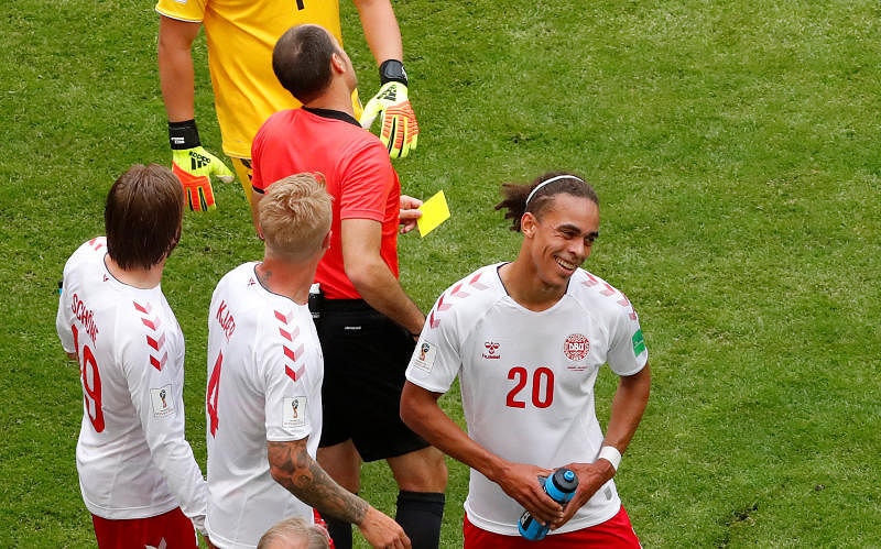 Spirited Australia draw with Denmark at World Cup