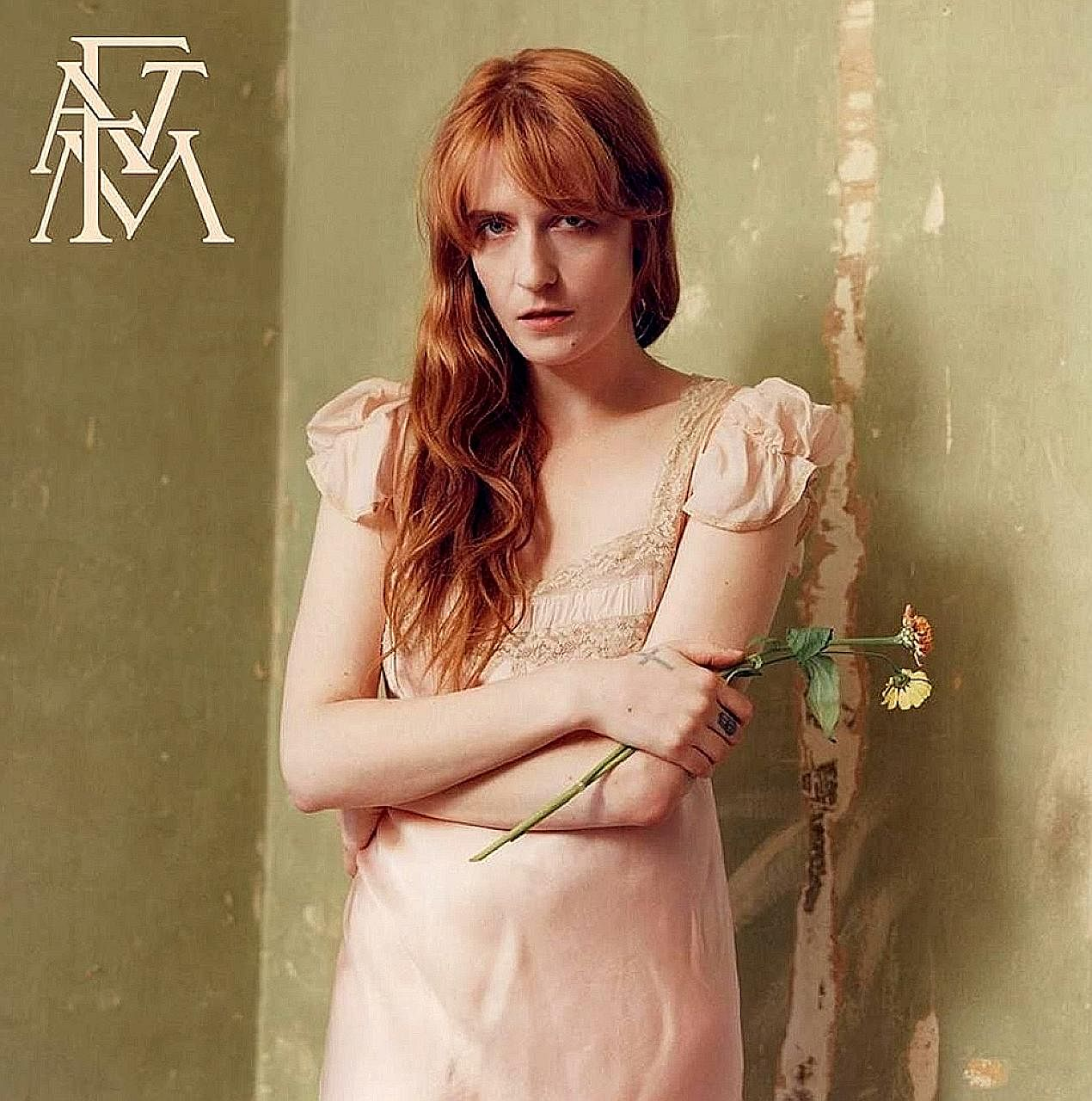Singer Florence Welch (above) opens up about her life on her band's fourth studio album.