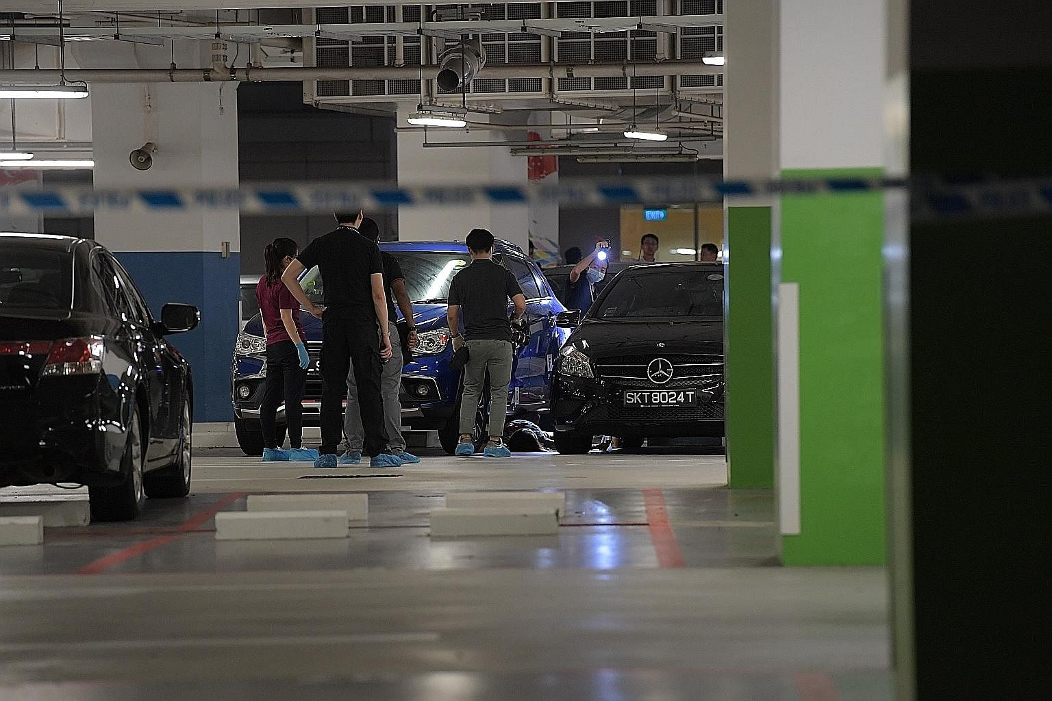 A woman believed to have been stabbed was found dead at the Institute of Technical Education (ITE) College Central campus in Ang Mo Kio yesterday evening. Police said they were alerted to an incident where a man allegedly stabbed the 56-year-old woma