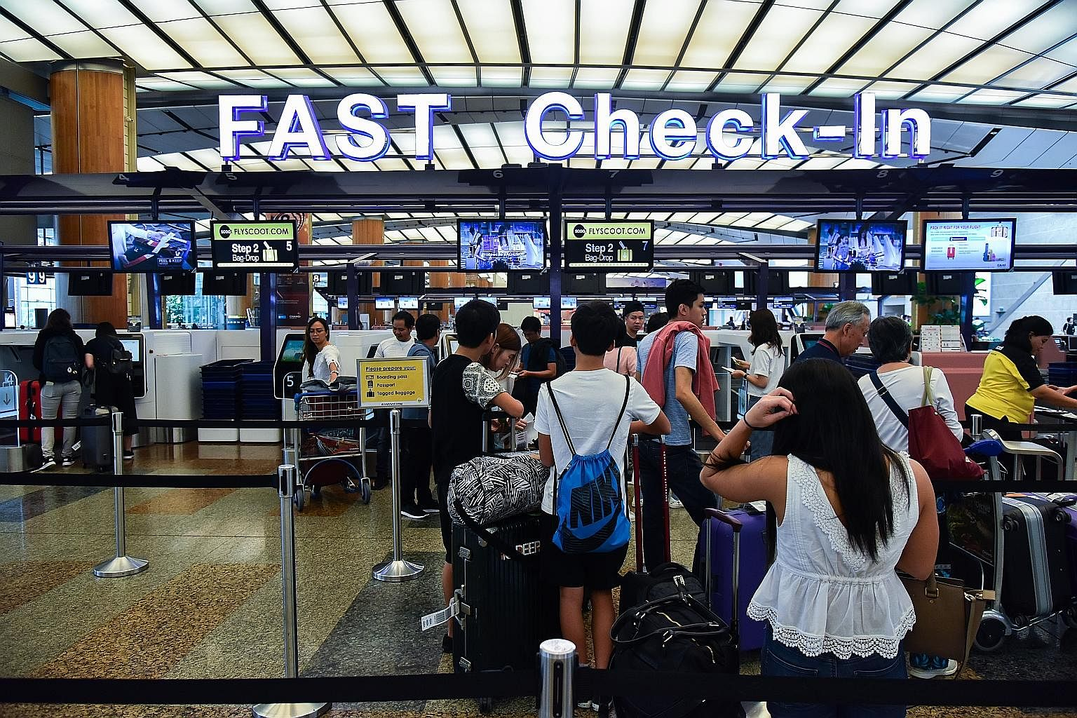 So far, 16 airlines have adopted Changi's Fast and Seamles
