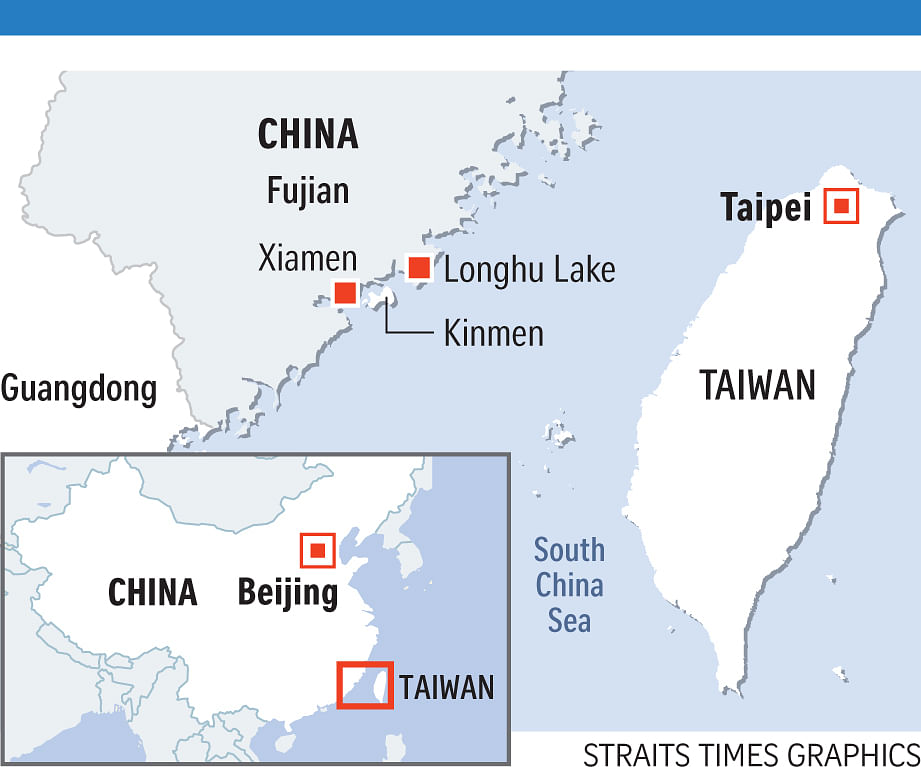 Map Of Asia Taiwan.China Starts Supplying Fresh Water To Taiwanese County East Asia