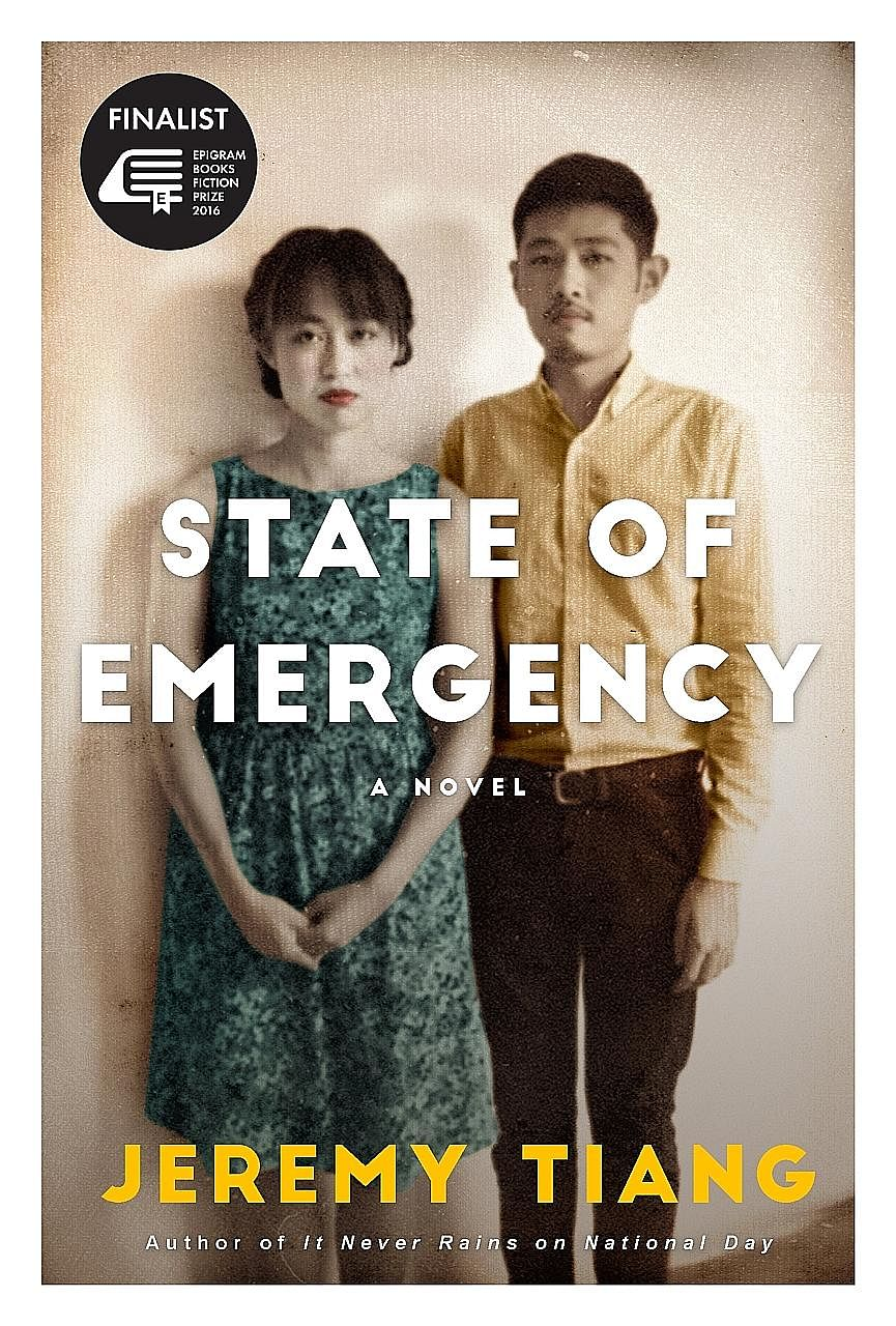 "State Of Emergency is about the leftist movements and political detentions in Singapore and Malaysia. The win for writer Jeremy Tiang (right) was a ""unanimous decision"" by the judges, Singapore Book Council executive director William Phuan said."