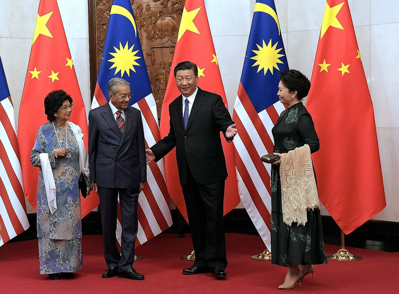 Image result for Mahathir's Dinner with Xi