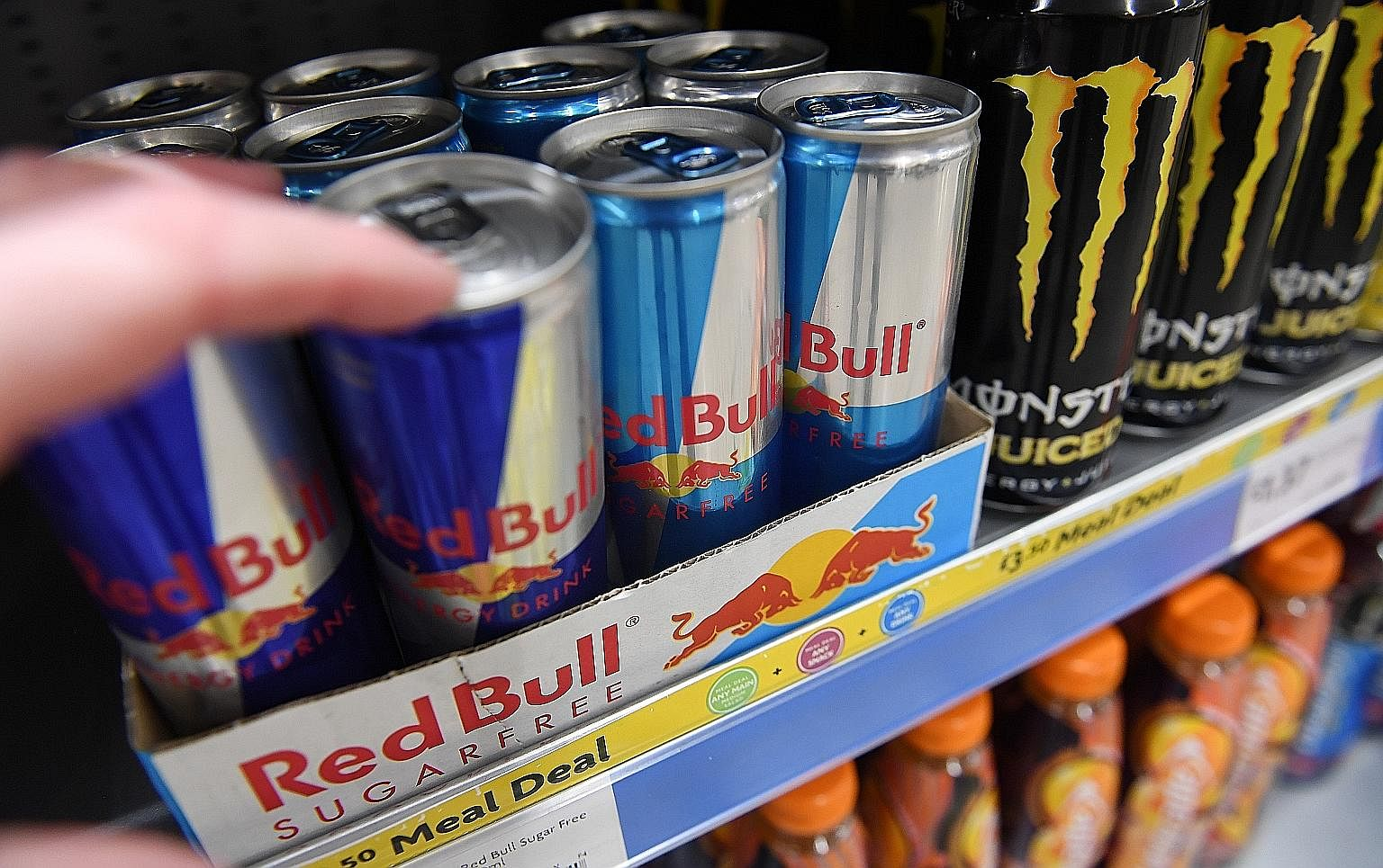 It S High Time To Can Energy Drinks Over Caffeine Sugar Concerns Life News Top Stories The Straits Times