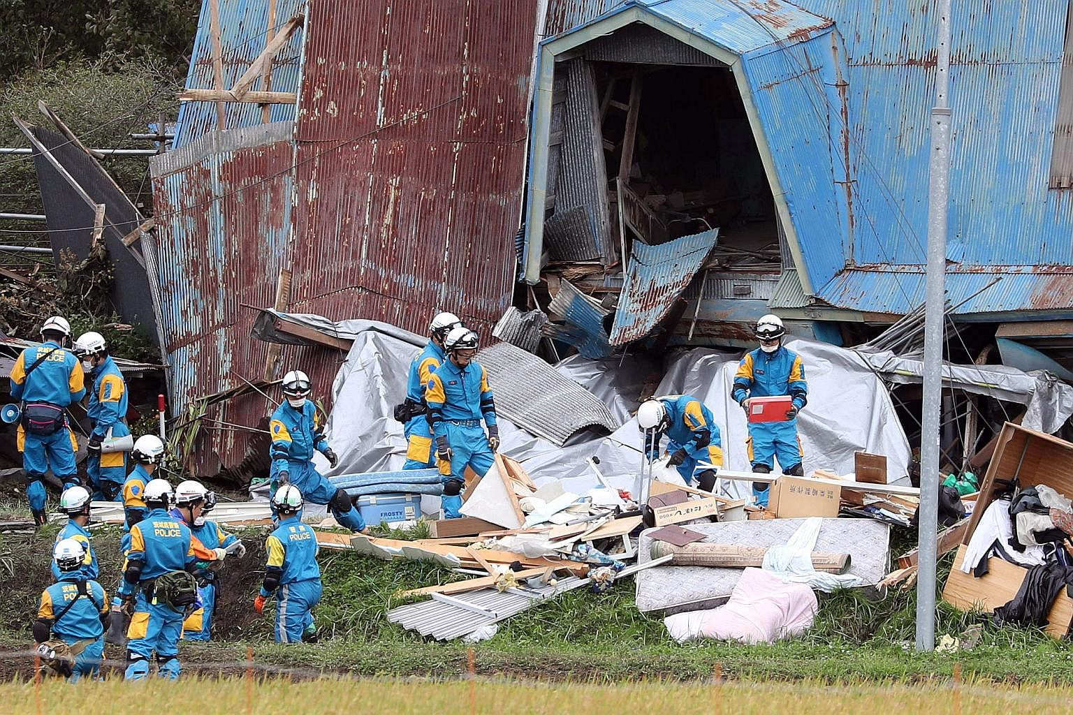 Death toll nears 40 from northern Japan natural disaster