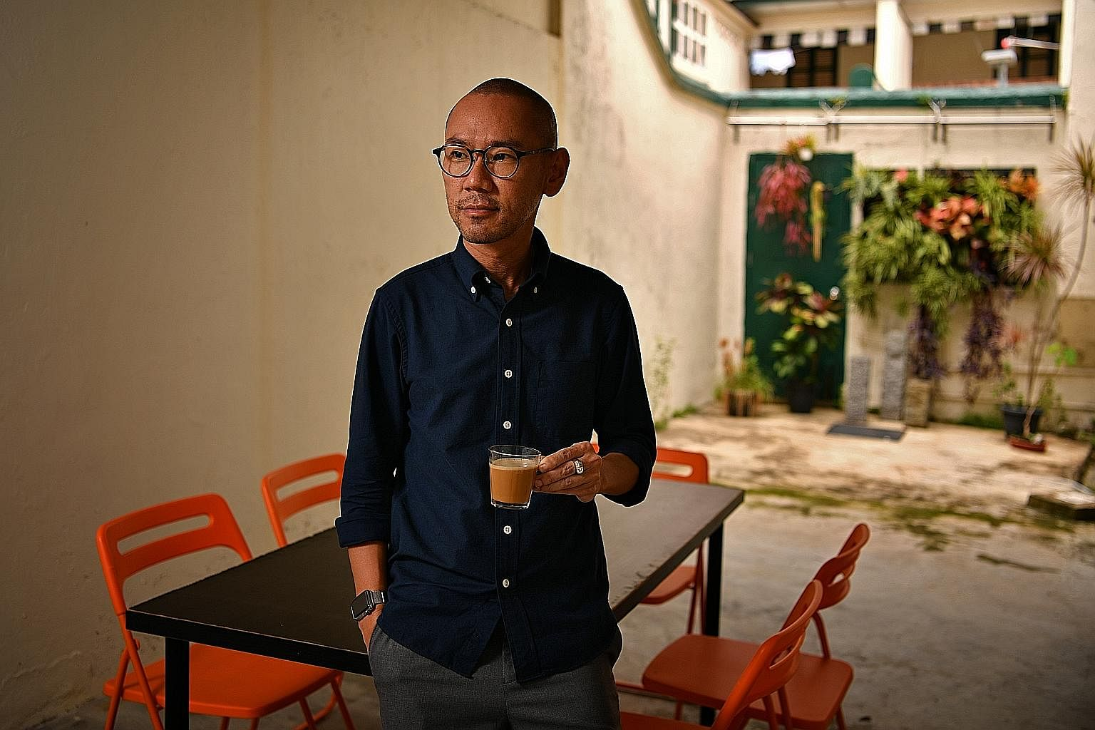 Mr Alaric Tan in his early 20s. Not long after graduating, a friend convinced him to take half an Ecstasy tablet on a Bangkok holiday. For nearly two decades, Mr Alaric Tan took drugs as a form of escape from a life scarred by abuse, depression and g