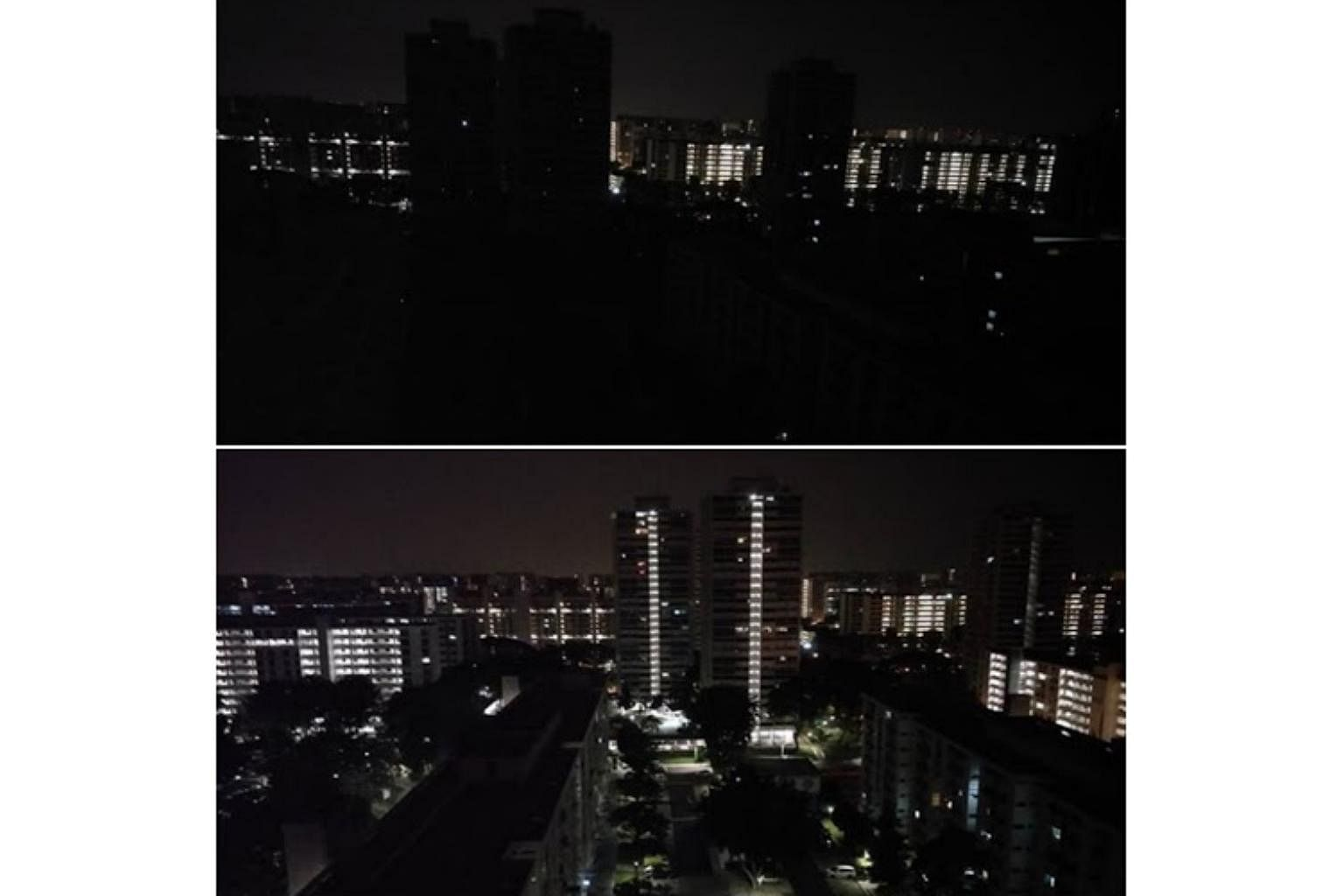 f76bfff1f67ef0 EMA investigating blackout that hit 19 areas from Bedok to Jurong  power  restored within 38 minutes